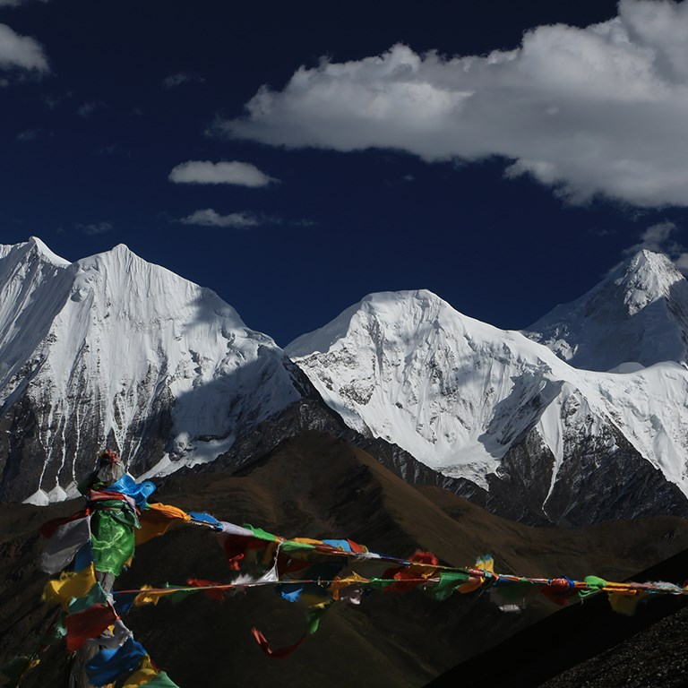 Mountaineering in Tibet - West China