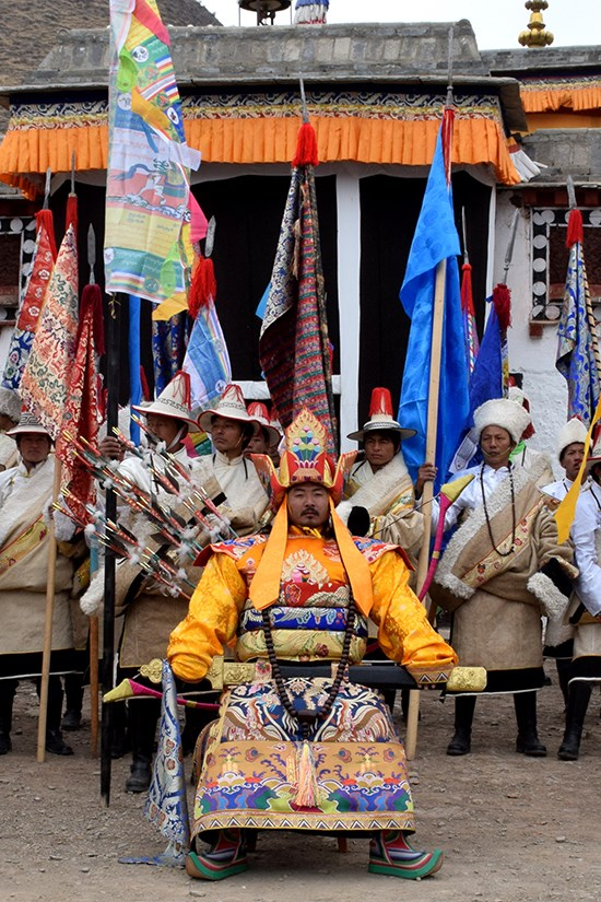 Discovery tour during the Tibetan New Year Losar in Eastern Tibetan cultural area Amdo in Province Qinghai and Gansu