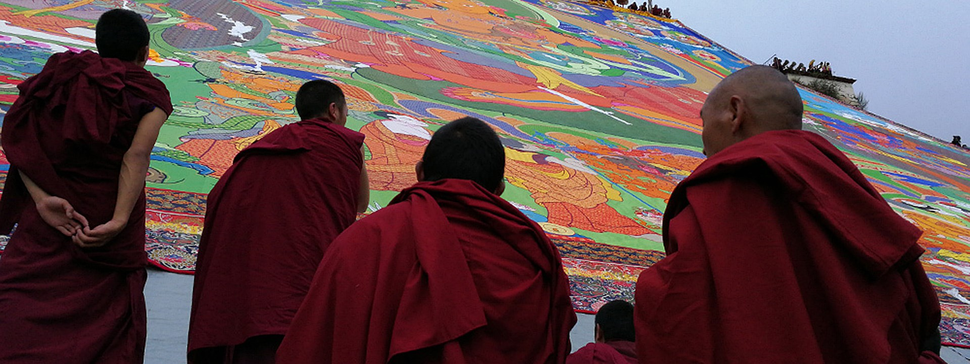 Shoton Festival in Lhasa