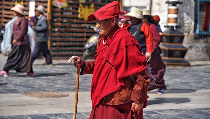 Monk in Lhasa