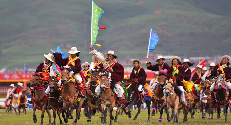 Horse Racing Festival in Litang