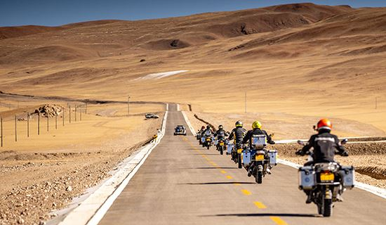 Tibet Rental Motorbike Adventure Tour to Everest and Kailash