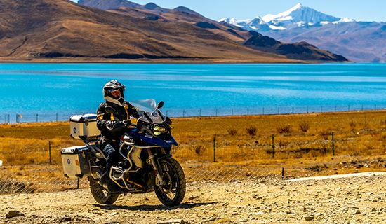Rental Motorbike Tour from Lhasa via Everest to Kathmandu